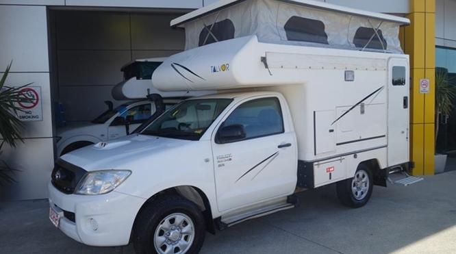 4WD campervan - 4x4 motorhome Australia | Australia 4WD
