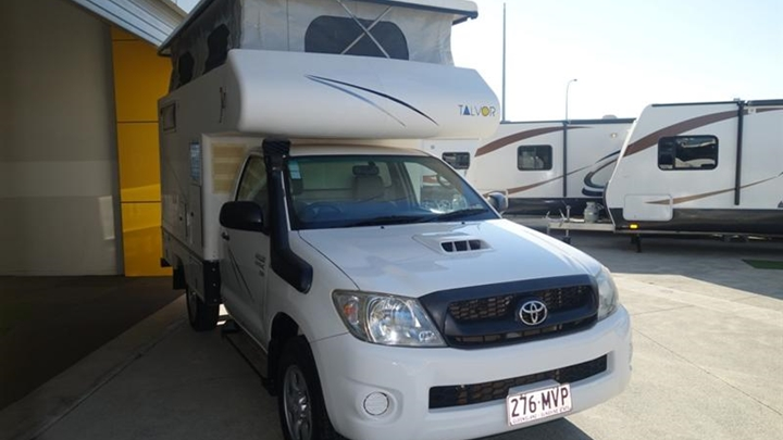 Off road Campervan Australia