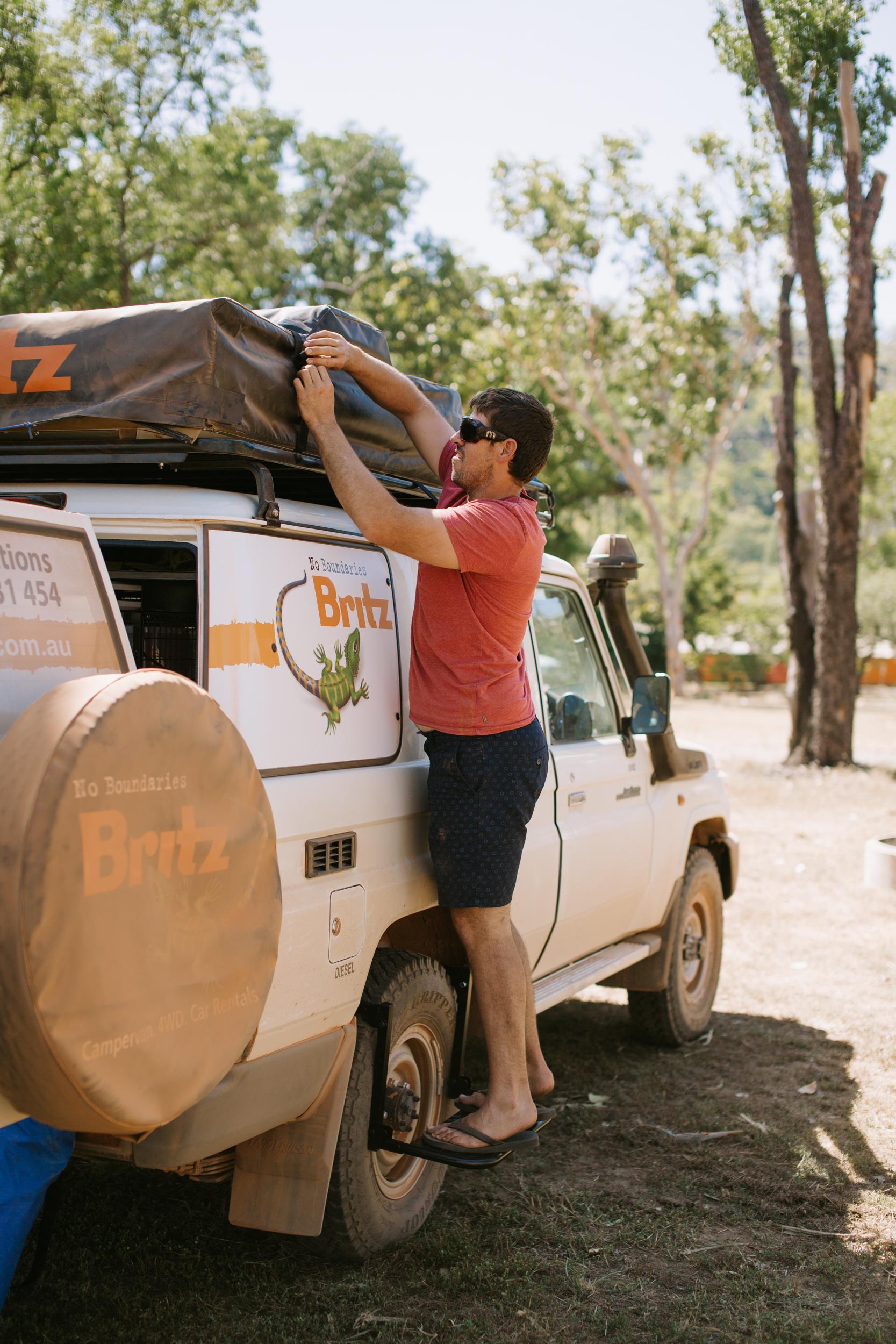 4wd Camper Britz Safari Landcruiser Australia Australia